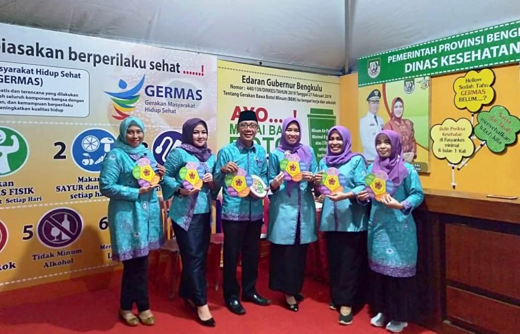 Festival Tabut Dinkes Prov Buka Stand Informasi Germas Bengkuluinteraktif Com