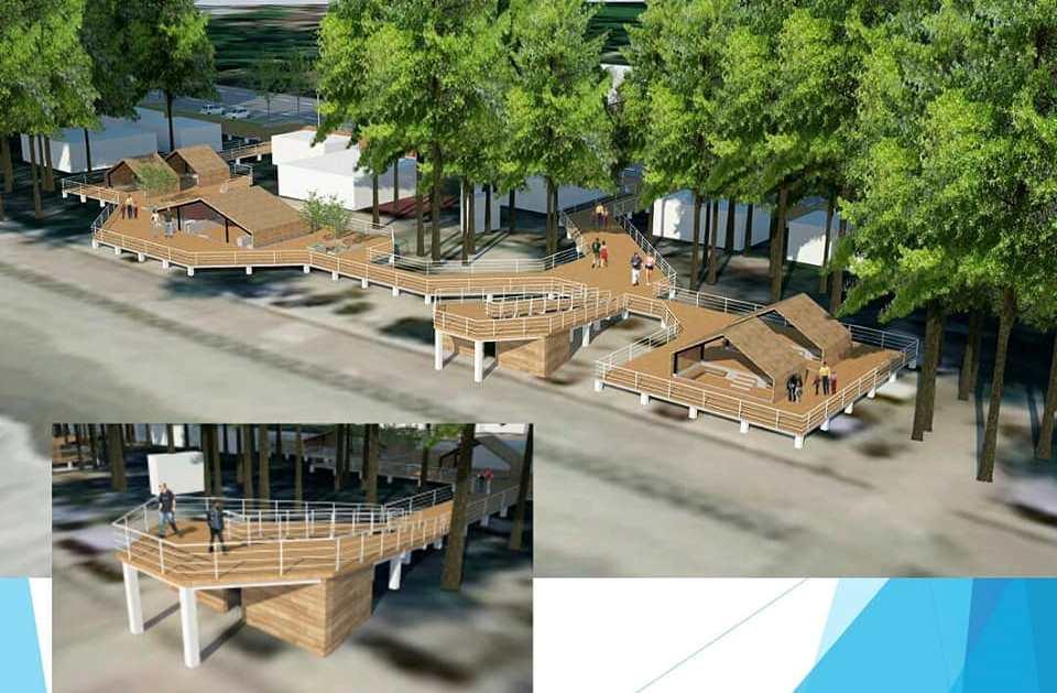 Tahun Ini Pantai Panjang Dibangun Menara Pandang Yuk Intip Desainnya Bengkuluinteraktif Com